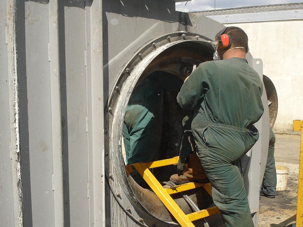 Nettoyage gaines de ventilation